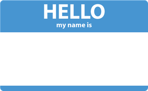 Hello my name is by Kubah