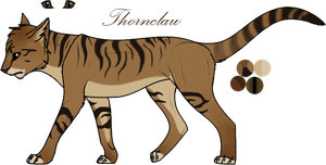 Thornclaw Ref by JadeRavenwing
