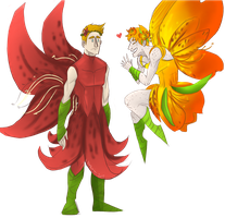 fairies_Wally and Roy by lauri244