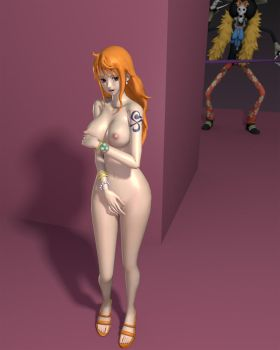 Modding nude Nami by Fakemodeo