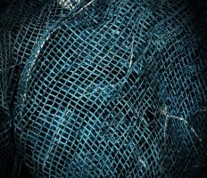 blue net by awjay