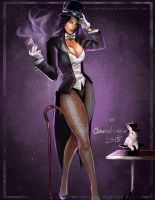 Zatanna By claudiaaloisia by cerebus873