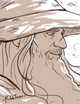 Gandalf :3 by Kibbitzer