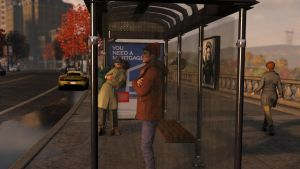 Wait for the bus. by MetroUI