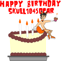 Happy Birthday 18th Skull1045oscar by skull1045fox