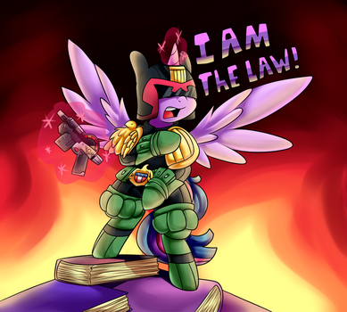 Twily Is The Law by GrapheneDraws