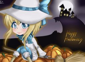-Happy Halloween 2012!- by Rebecka-chan
