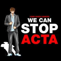 STOP ACTA - boy by Yokufo