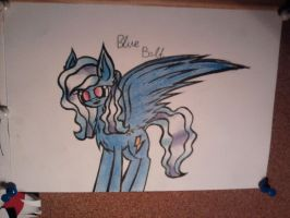 Blue Bolt by troublemaker1230