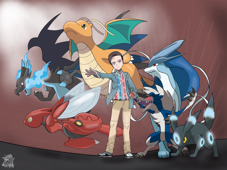 Commission - Pascal's Pokemon Team by Tails19950