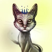 Speed paint Royal Cat by terrygu