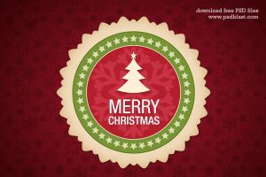Christmas Design Element PSD by psdblast