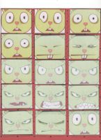Flippy's epic faces 1 by tonoly21