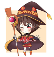 (Commission) Megumin by pancakehime