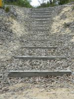 Rustic Stairs 001 - HB593200 by hb593200