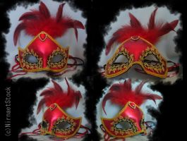 Carnival Mask Stock Pack by NirnaetStock