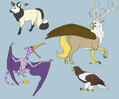 Anatheria Pets by Iron-Zing