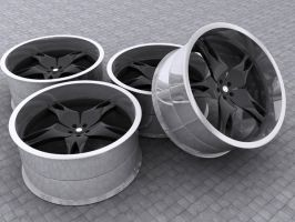 Wheel design by mikednhm
