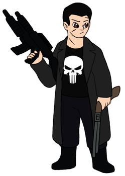 Marvel Revisited - The Punisher by Gaiash