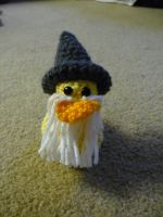 Gandalf Rubber Duck by maybirdfan