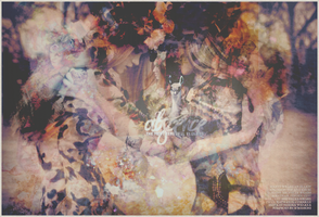 Abscence floral header by abscenced