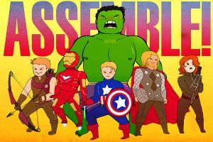 ASSEMBLE by soltian