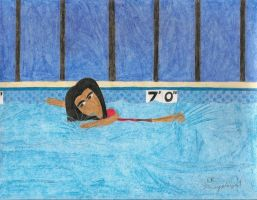 Jacob Black goes swimming by daisyplayer1