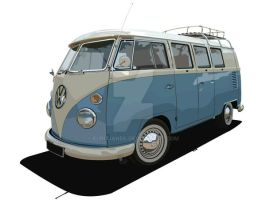Vw Bus Mk 1 by eurojanek