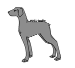 Dog Lineart - F2U by Maes-adopts