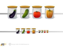 icons for tinned by AndexDesign