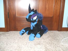 Night mare moon Plush FOR SALE by ThatFreakyZephyr