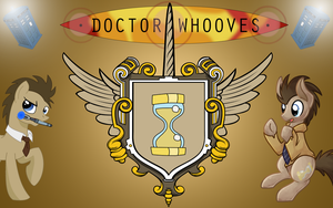Dr. Whooves Wallpaper by Thoron95
