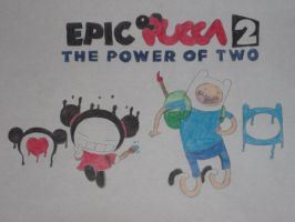 Epic Pucca 2: The Power of Two by rabbidlover01