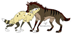 Wolf Breedable - Couple by Foxpaw73