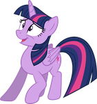 Nervous Twilight Sparkle by 90Sigma