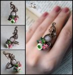 Ring Summer garden by JSjewelry