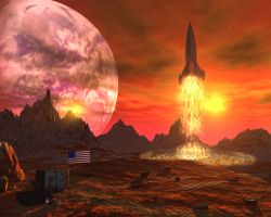 Red Planet by richmerk