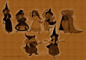 The Witches by AmourFonce