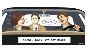 Hey Cas! by S-P-N