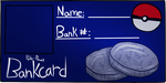 POKE-PAWS BANK CARD by Ciarwood-Square