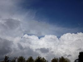 Towering clouds by captainflynn