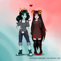 Cuties by SophiaBlackwoodArt