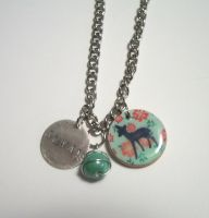 Snape and Lily Always Necklace by kiddomerriweather