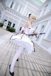 Fate/Stay Night - Saber Lily by Xeno-Photography