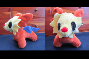 Lillipup Plushie by DragonwolfRooke