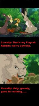 Funny Watership Down 38 by CrispinVCampion