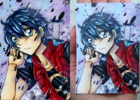 ACEO Prize - Koichi by ICanReachTheStars