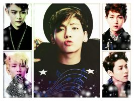 SHINee boys by Michael1525