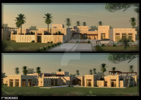traditional villa by aboushady81