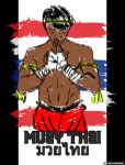 Muay Thai quickie by CrazyMangaka
